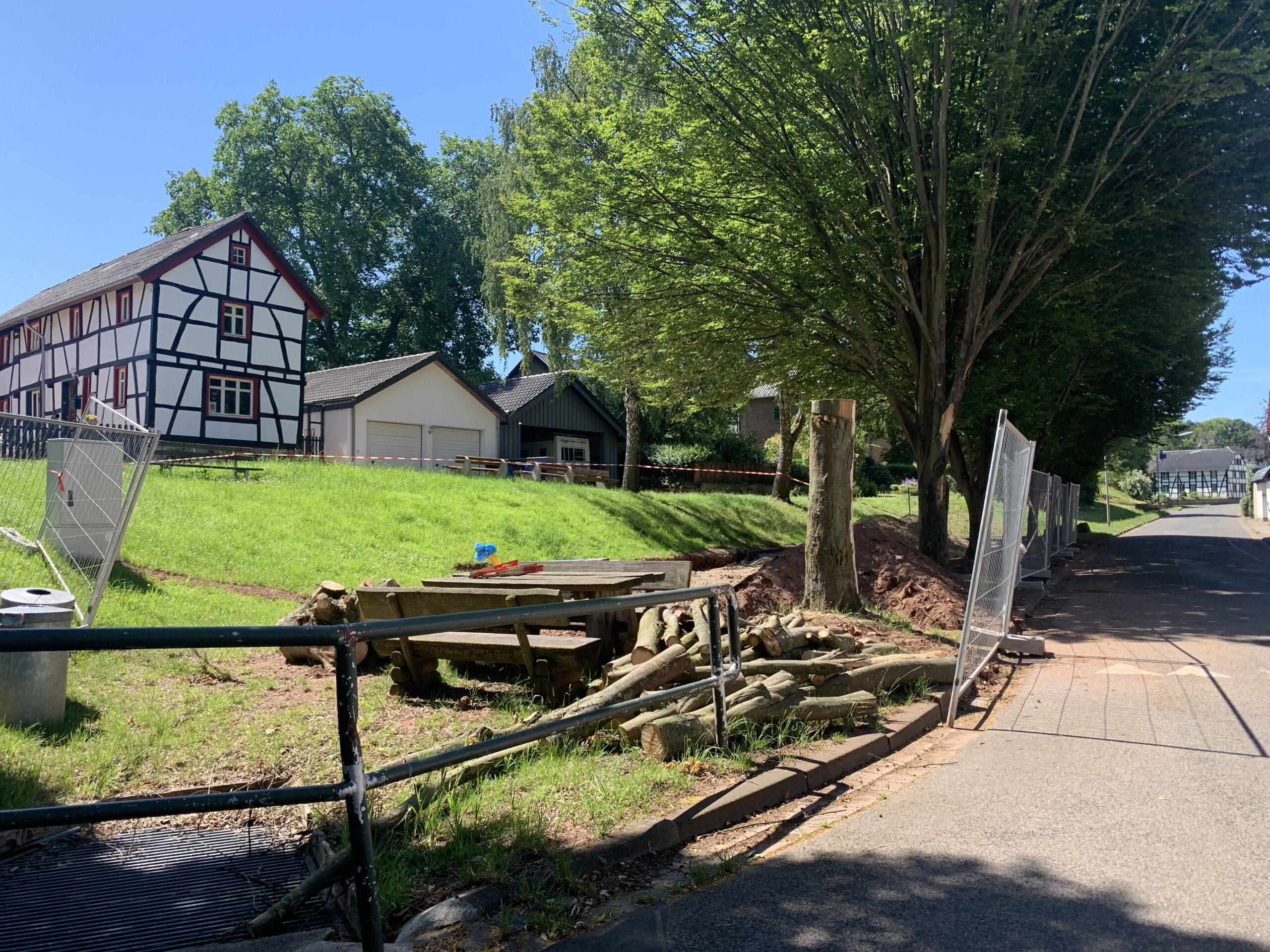 Neuer Spielplatz für den Dorfplatz
