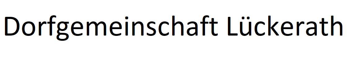 Dorfgemeinschaft Lückerath